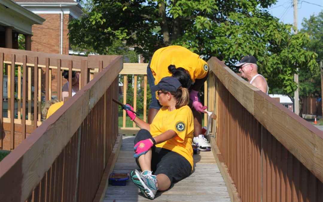 Help yourself by helping others: Make a commitment to volunteer